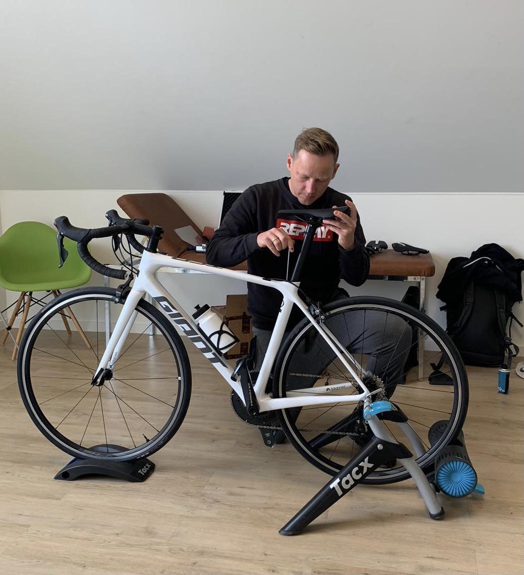 Bike Fitting!  Symbiose zwischen Bike und Athlet!