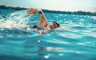 """Schwimm – Einzelcoaching """"100 x 100 + Plan""""."""